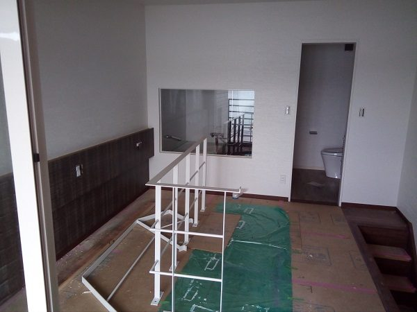アダンオンザビーチ改装工事。2階の様子。