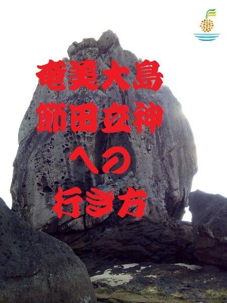 奄美大島のパワースポット節田立神への行き方